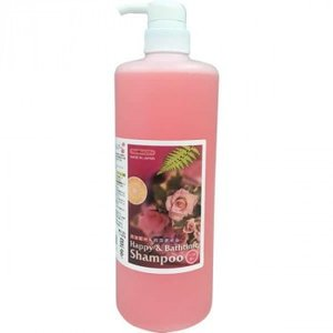 ハッピー&バスタイム ペット用シャンプー 1L バラの香り|happeast