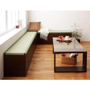 日本製ユニット式畳ボックス収納 畳ボックス収納 2体セット 90・180タイプ 182cm 32.5cm 121cm|happeast