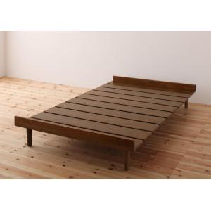 ショート丈北欧デザインベッド ベッドフレームのみ  セミシングル ショート丈|happeast