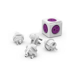 電源タップ 4口 USB2ポート付き 各国規格のアダプター allocacoc 1930-JPRU4P happinesnet-stora