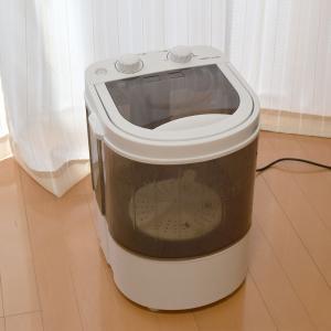 洗濯機 小型 コンパクト サンコー 別洗い SSWMANFM|happinesnet-stora