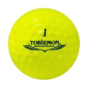 ゴルフボール ダース 6個セット 飛衛門 TOBIEMON 超高性能3ピース PREMIUM-3 スパークルイエロー T-B3DYX6|happinesnet-stora