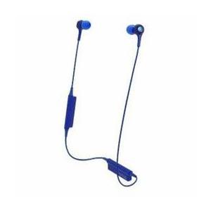 オーディオテクニカ ATH-CK200BT-BL Bluetoothヘッドホン ブルー  好きな場所...