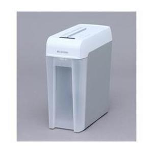 シュレッダー 業務用 A4 アイリスオーヤマ マイクロカット ホワイト グレー KP6HMCS|happinesnet-stora