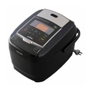 炊飯器 3合 アイリスオーヤマ IHジャー 銘柄量り炊き ブラック KRC-IC30-B|happinesnet-stora