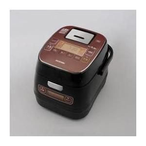 炊飯器 3合 アイリスオーヤマ IHジャー 銘柄量り炊き KRC-ID30-R|happinesnet-stora