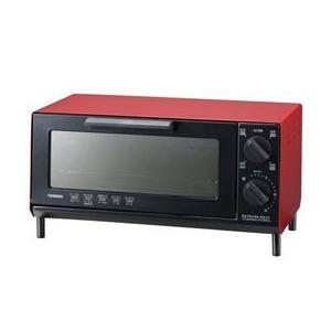 オーブントースター ツインバード レッド TS-4035R happinesnet-stora