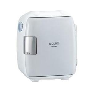 電子保冷保温ボックス 5.5L ツインバード 電源式 コンパクト D-CUBE S グレー HR-DB06GY happinesnet-stora