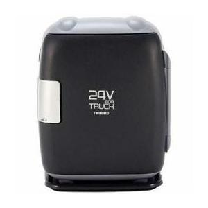電子保冷保温ボックス 24V ツインバード DC電源用 コンパクト 24V FOR TRUCK グレー HR-D249GY happinesnet-stora