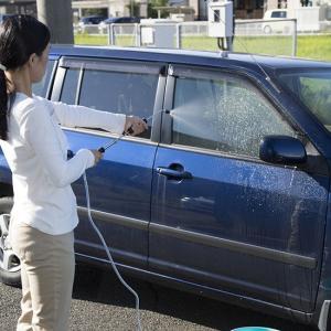 洗車 お墓掃除 ジェット水流 手動式 強力 PUREジェット噴射器 簡単洗浄 C-00016 happinesnet-stora
