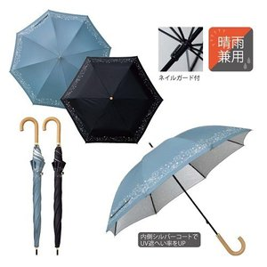 晴雨兼用傘 長傘 レディース ギフト 粗品 記念品 景品 プレゼント ノベルティ happinesnet-stora