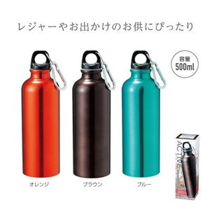 アルミボトル 水筒 500ml ギフト 粗品 記念品 景品 プレゼント ノベルティ|happinesnet-stora