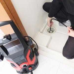 高圧洗浄機 家庭用 強力 サンコー 配管洗浄ホース付き THKBCO1500 happinesnet-stora