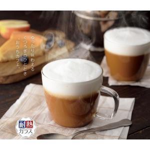 ―――耐熱ガラスマグカップ2個組―――  1ケース:48組(48入×1カートン)       サイズ...