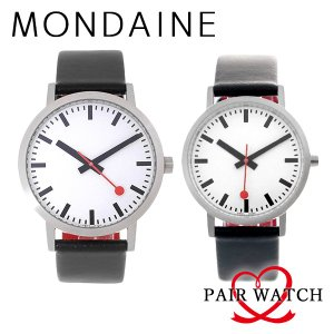 ペアウォッチ モンディーン MONDAINE 腕時計 A6603031416OM A6603036016OM happinesnet-stora