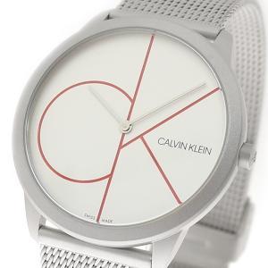 腕時計 メンズ レディース カルバンクライン CALVIN KLEIN K3M51152 ミニマル Minimal クォーツ シルバー|happinesnet-stora