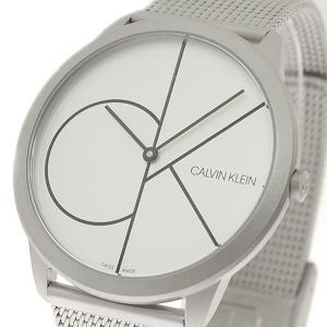 腕時計 メンズ レディース カルバンクライン CALVIN KLEIN K3M5115X ミニマル Minimal クォーツ シルバー|happinesnet-stora