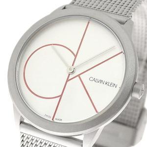 腕時計 レディース カルバンクライン CALVIN KLEIN K3M52152 ミニマル Minimal クォーツ シルバー|happinesnet-stora