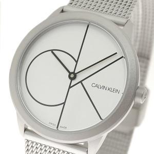 腕時計 レディース カルバンクライン CALVIN KLEIN K3M5215X ミニマル Minimal クォーツ シルバー|happinesnet-stora