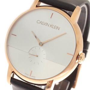 腕時計 メンズ カルバンクライン CALVIN KLEIN K9H2X6C6 クォーツ ホワイトシルバー ブラック ローズゴールド|happinesnet-stora