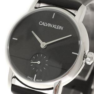 腕時計 レディース カルバンクライン CALVIN KLEIN K9H2Y1C1 クォーツ ブラック|happinesnet-stora