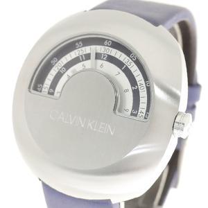 腕時計 メンズ カルバンクライン CALVIN KLEIN K9M311VN グリンプス GlIMPSE クォーツ シルバー ブルー|happinesnet-stora