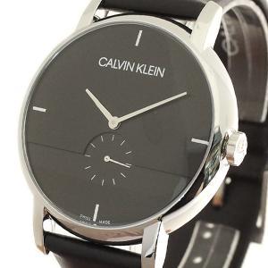 腕時計 メンズ カルバンクライン CALVIN KLEIN K9H2X1C1 クォーツ ブラック|happinesnet-stora