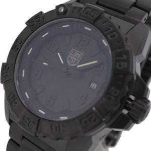 腕時計 メンズ ルミノックス LUMINOX 3252.BO L ネイビーシールスチール ブラックアウト NAVY SEAL STEEL クォーツ ブラック|happinesnet-stora