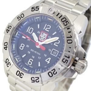 腕時計 メンズ ルミノックス LUMINOX 3254 ネイビーシールスチール NAVY SEAL STEEL クォーツ ネイビー シルバー|happinesnet-stora