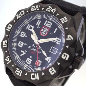 腕時計 メンズ ルミノックス LUMINOX 6421 ナイトホーク NIGHTHAWK クォーツ ブラック|happinesnet-stora