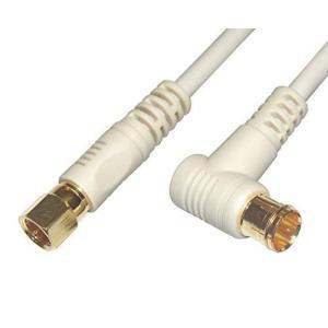 フジパーツ/S4CFB アンテナケーブル 1.5m S4CFB 同軸ケーブル L型プラグ(プッシュ式)⇔接栓(ねじ式) /FBT-715/1.5m|happiness-store1