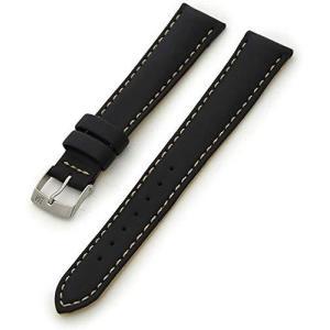 [モレラート]Morellato CASTAGNO カスタンニョ 時計ベルト 18mm ブラック シンセティックレザー時計ベルト U3687 934|happiness-store1