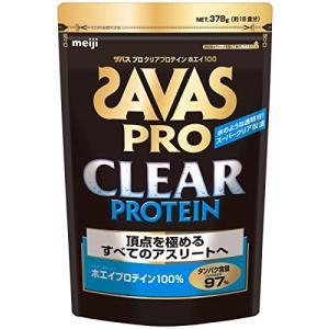 ザバス(SAVAS) プロ クリアプロテイン ホエイ100 【18回分】 378g|happiness-store1