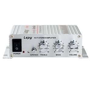 Lepy Hi-Fi ステレオアンプ デジタルアンプ カー アンプ パワーアンプLP-268 [LP-268] happiness-store1