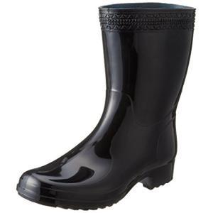 [アキレス] レインブーツ 長靴 作業靴 レインシューズ 日本製 2E メンズ NGB 5100 ブラック 26.5 cm|happiness-store1