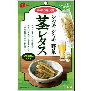 なとり シャキシャキ野菜茎レタス梅しそ味 35g×5袋|happiness-store1