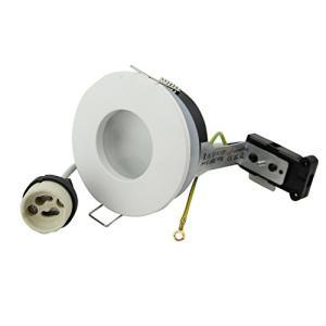 亜鉛合金IP65 防水ラウンドGU10 MR16 (GU5.3) スポット電球 3インチ 埋め込み型LED天井照明器具|happiness-store1