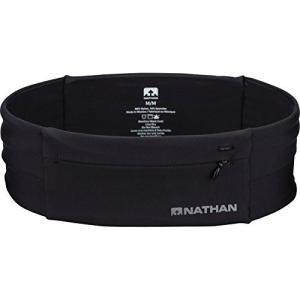 NATHAN(ネイサン) ランニング NS7702 ジップスター ウェストバンド ジップ付ポケット NS7702 BLACK S|happiness-store1