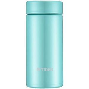 タイガー魔法瓶 水筒 スクリュー マグボトル 6時間保温保冷 200ml 在宅 タンブラー利用可 パウダーグリーン MMP-J020GP|happiness-store1