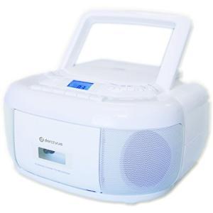 AM/FMワイドマイクミキシング機能付CDラジカセ DCRC50W happiness-store1