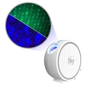 BlissLights Sky Lite LEDスタープロジェクター、ギャラクシーライト、星空ナイトライトプラネタリウム ベッドサイドランプ(グリーン|happiness-store1