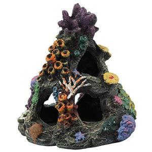 水槽の装飾 水槽用 オブジェ アクアリウムの装飾品 水族館 アクアリウム オーナメント 魚 の 隠れ家 水槽内アクセサリー|happiness-store1