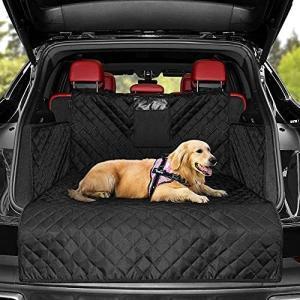 KYG ペット用ドライブシート トランクマット 多機能ノンスリップマット 犬 シートカバー ペットシート カー用品 車後部座席 車載カバー 防水シート|happiness-store1