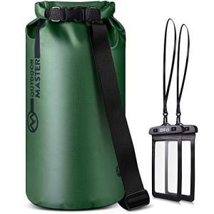 OUTDOORMASTER一年保証 ドライバッグ 防水バッグ プールバッグ 10L 20L 30L 40L 大容量 防災バッグ アウトドア用 スマホ用|happiness-store1