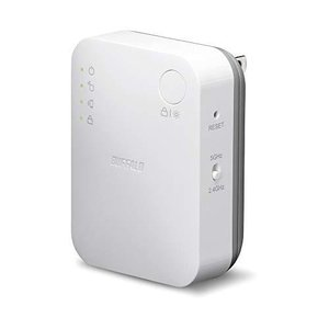 BUFFALO WiFi 無線LAN 中継機 WEX-733DHP/N 11ac 433+300Mbps コンセント直挿しモデル 簡易パッケージ? 日|happiness-store1
