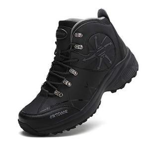 [アッション] トレッキングシューズ メンズ 軽量 防滑 登山靴 アウトドア ハイカット ハイキングシューズ 透湿 防水 ハイテック ウォーキングシュ|happiness-store1