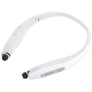 [山善] ネックスピーカー イヤホン ワイヤレス 折りたたみ式 Bluetooth対応 (テレビ/映画/ゲーム用 スピーカー) ハンズフリー通話 QN happiness-store1