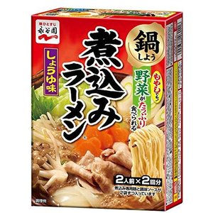 永谷園 煮込みラーメン しょうゆ味 (2人前×2回分) ×6個|happiness-store1