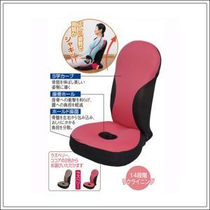 骨盤矯正 骨盤姿勢ケア座椅子 座るだけで骨盤を保ち姿勢スッキ...