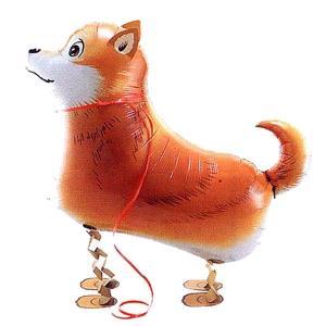 ●お散歩柴犬風船100枚セット |happy-balloon